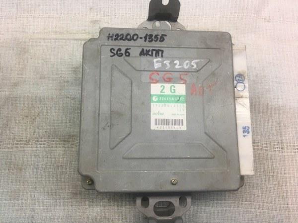 Блок управления двс Subaru Forester SG5 EJ205 2005