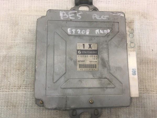 Блок управления двс Subaru Legacy B4 BE5 EJ208 2001