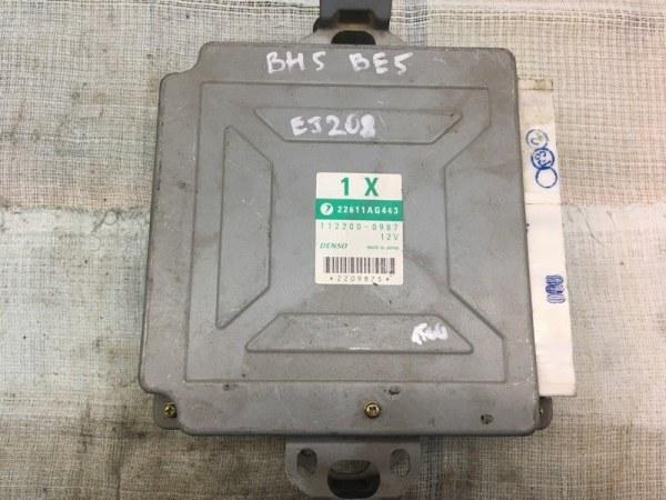 Блок управления двс Subaru Legacy BE5 EJ208 2001