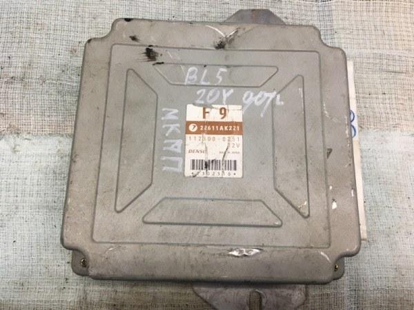 Блок управления двс Subaru Legacy BP5 EJ20X 2008