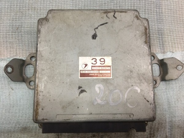 Блок управления двс Subaru Legacy B4 BE5 EJ206 1999