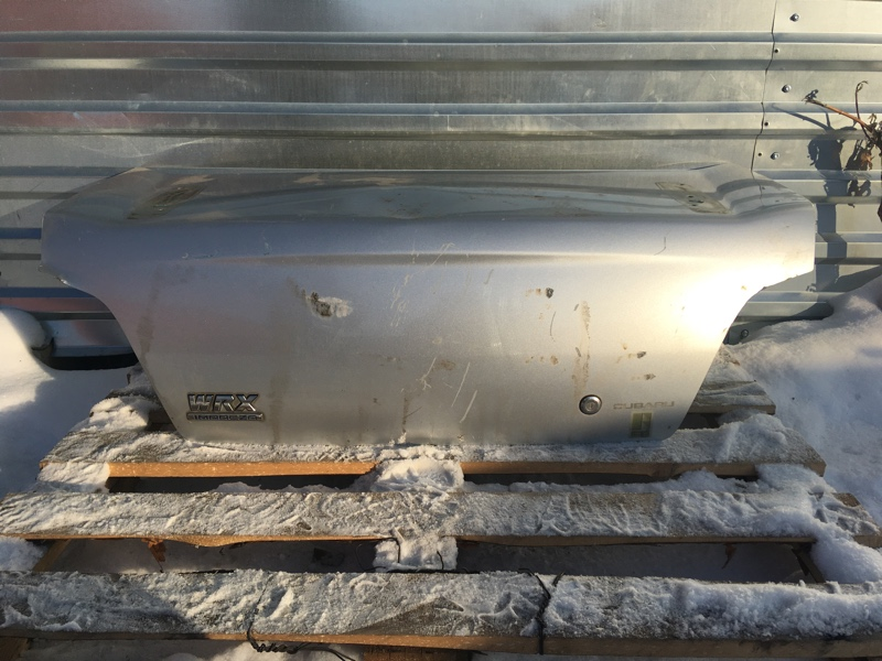 Крышка багажника Subaru Impreza Wrx GDA EJ205 2000 задняя