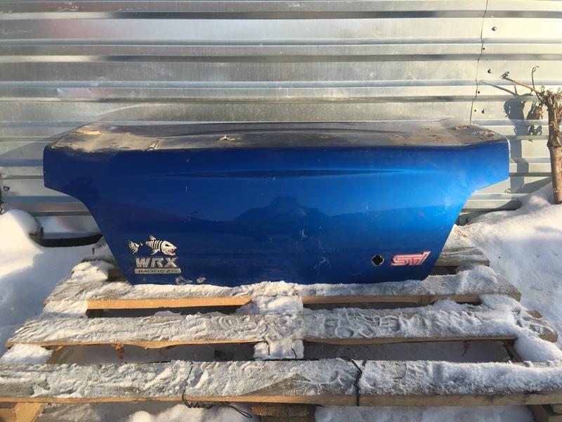 Крышка багажника Subaru Impreza Wrx Sti GDB EJ207 2003 задняя