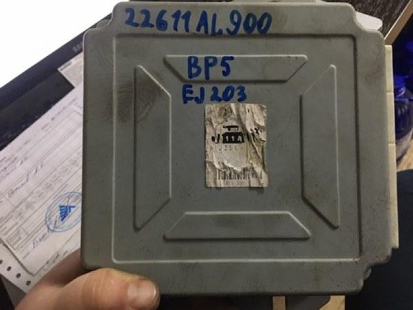 Блок управления двс Subaru Legacy BP5 EJ203 2005