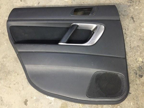 Обшивка двери Subaru Legacy BP5 EJ20X 2003 задняя левая