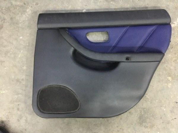 Обшивка двери Subaru Legacy BE5 EJ206 1999 задняя правая