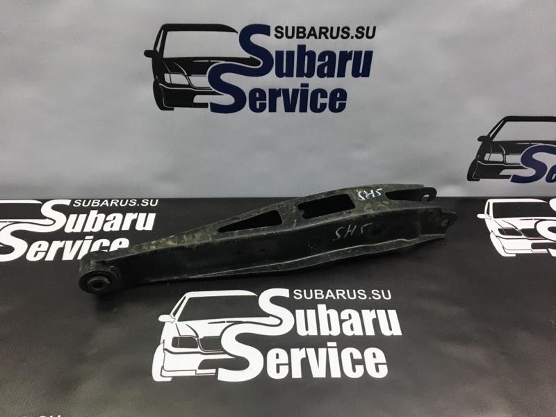Рычаг подвески Subaru Forester SH5 EJ205 2008 задний левый