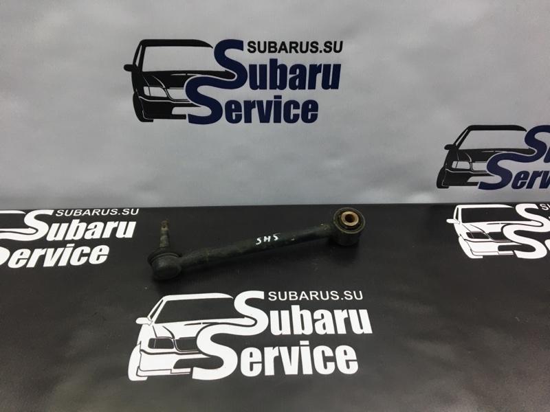 Рычаг подвески Subaru Forester SH5 EJ205 2008 задний левый нижний