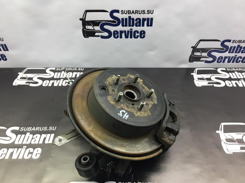 Тормозной диск Subaru Forester SH5 EJ205 2008 задний