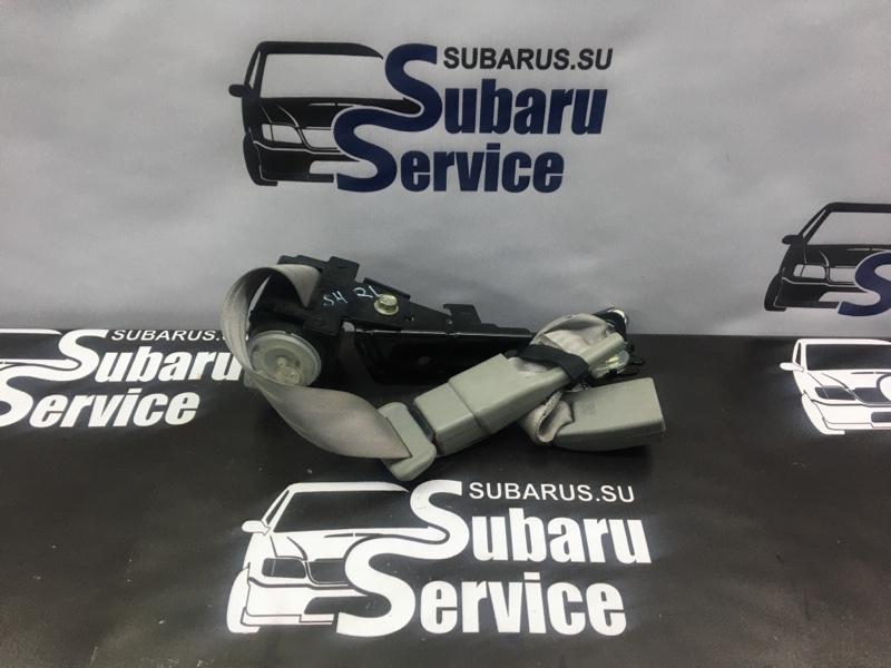 Ремень безопасности Subaru Forester SH5 EJ205 2008 задний левый