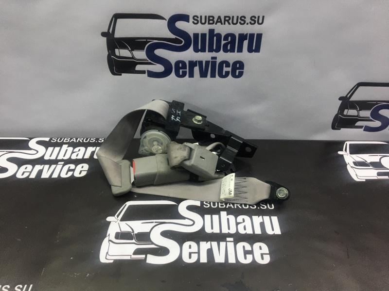 Ремень безопасности Subaru Forester SH5 EJ205 2008 задний правый