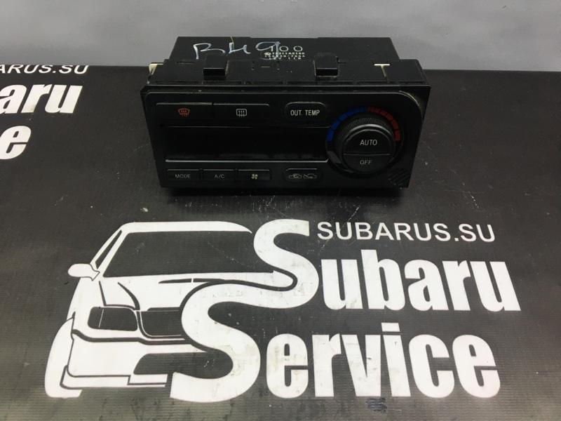Блок управления климат-контролем Subaru Legacy B4 BE5 EJ208 2001