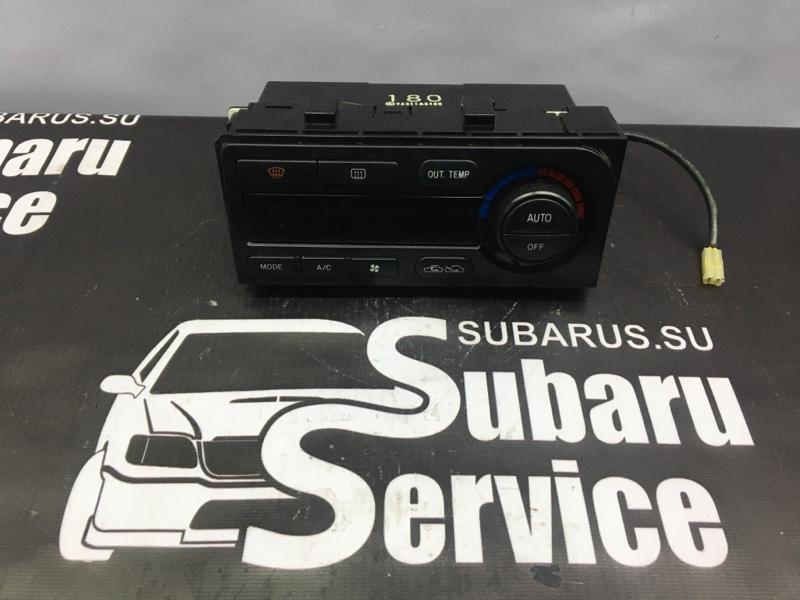Блок управления климат-контролем Subaru Legacy B4 BEE EZ30D 2002