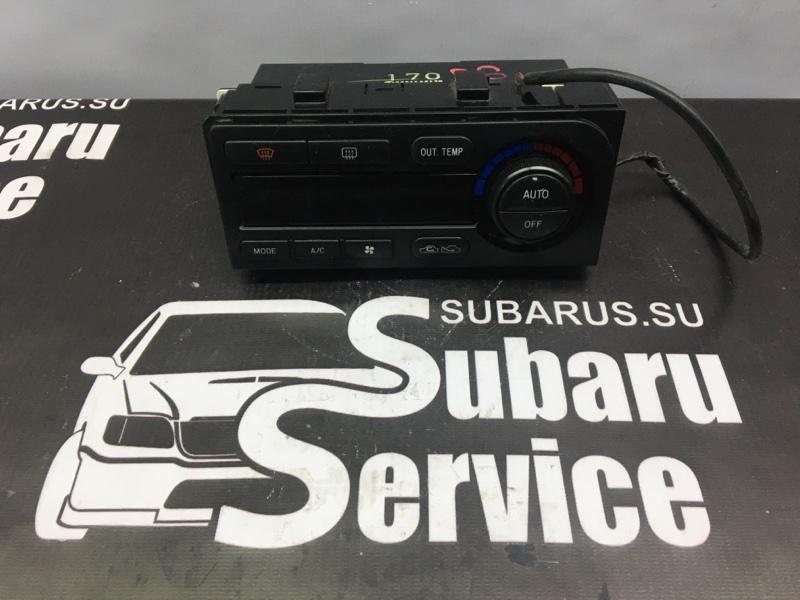 Блок управления климат-контролем Subaru Legacy BE5 EJ206 2001