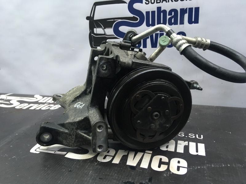 Компрессор кондиционера Subaru Impreza Wrx GGA EJ205 2007