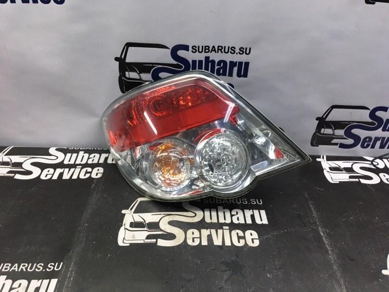 Стоп-сигнал Subaru Impreza Wrx GGA EJ205 2007 задний левый