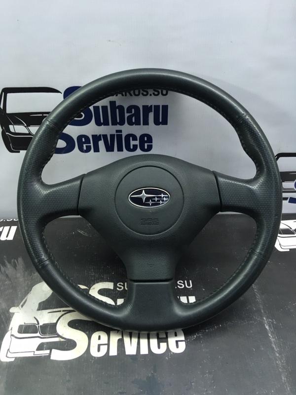 Подушка airbag в руль Subaru Impreza Wrx GGA EJ205 2007