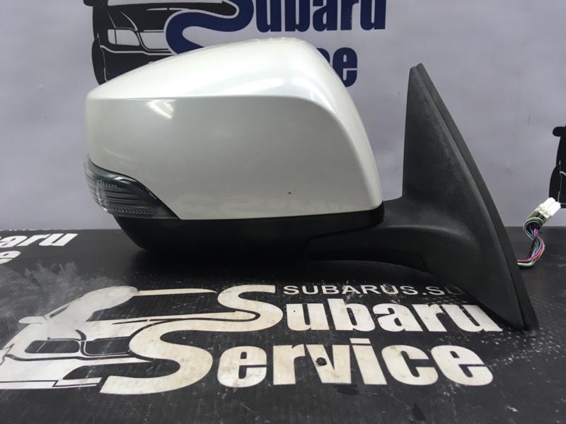 Зеркало Subaru Legacy BRM FB25 2012 правое