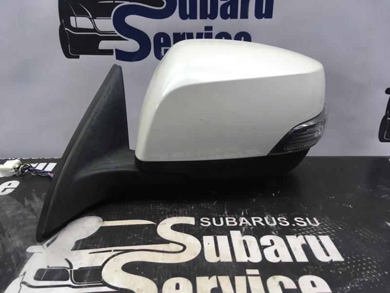 Зеркало Subaru Legacy BRM FB25 2012 левое