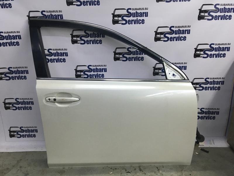 Дверь Subaru Legacy BRM FB25 2012 передняя правая