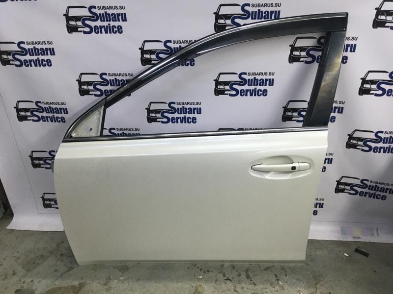 Дверь Subaru Legacy BRM FB25 2012 передняя левая