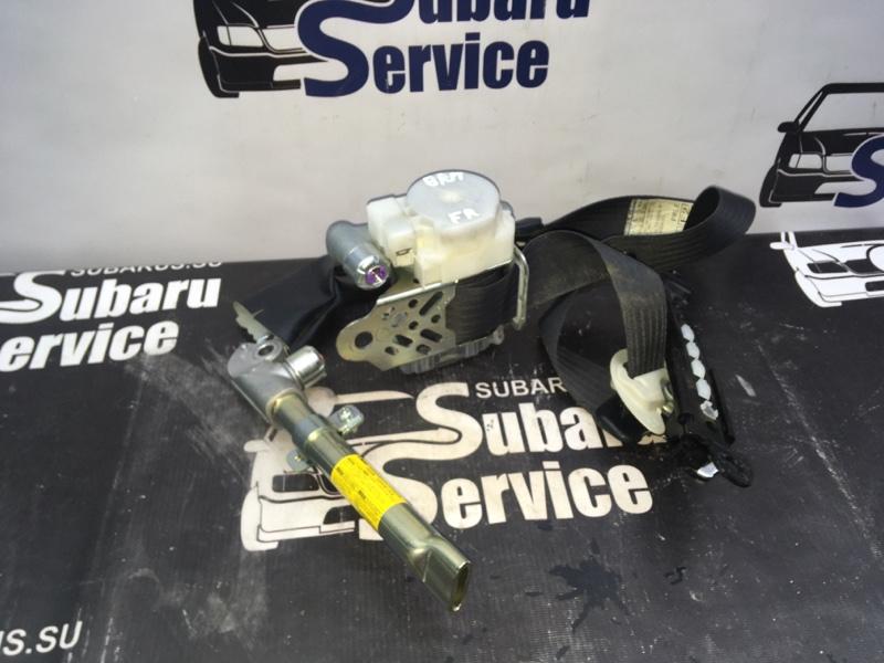 Ремень безопасности Subaru Legacy BRM FB25 2012 передний правый