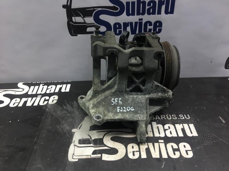 Компрессор кондиционера Subaru Forester SF5 EJ20G 1997