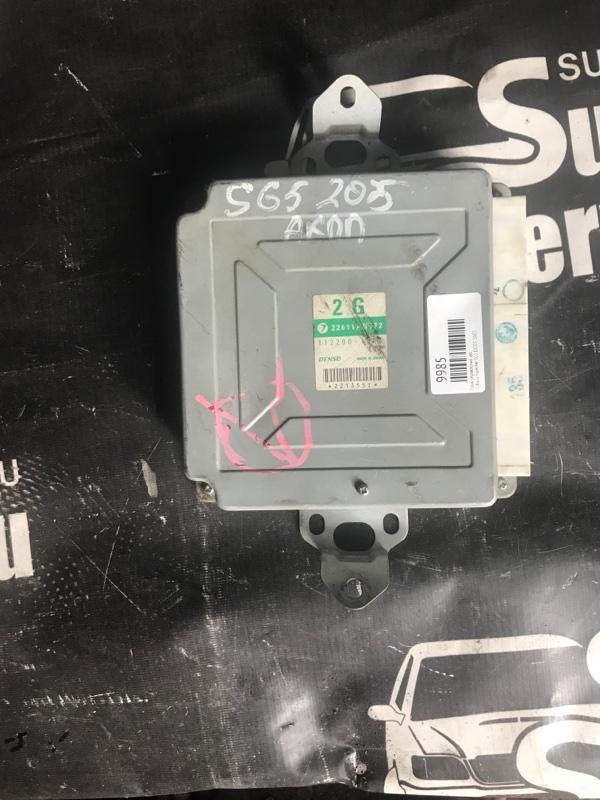 Блок управления двс Subaru Forester SG5 EJ205 2003