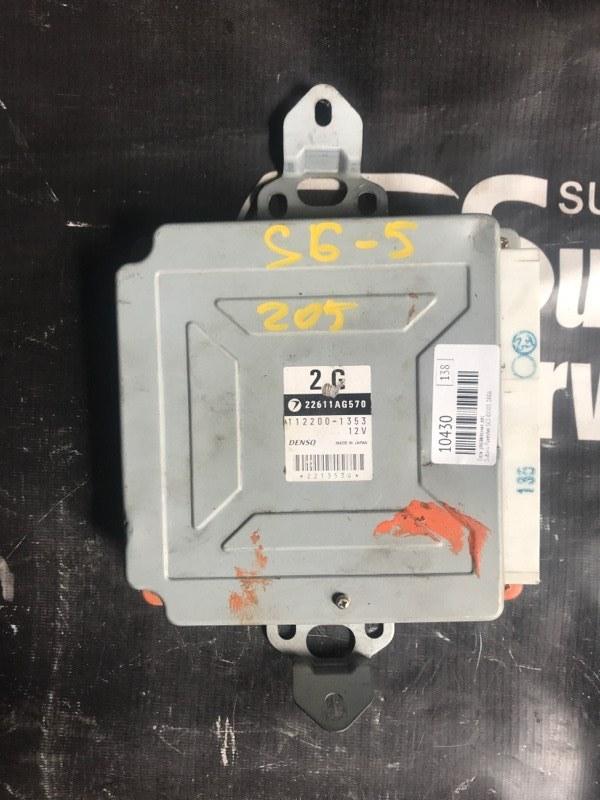 Блок управления двс Subaru Forester SG5 EJ205 2006
