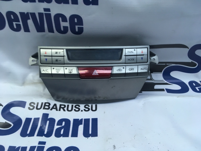 Блок управления климат-контролем Subaru Outback BR9 EJ253 2009