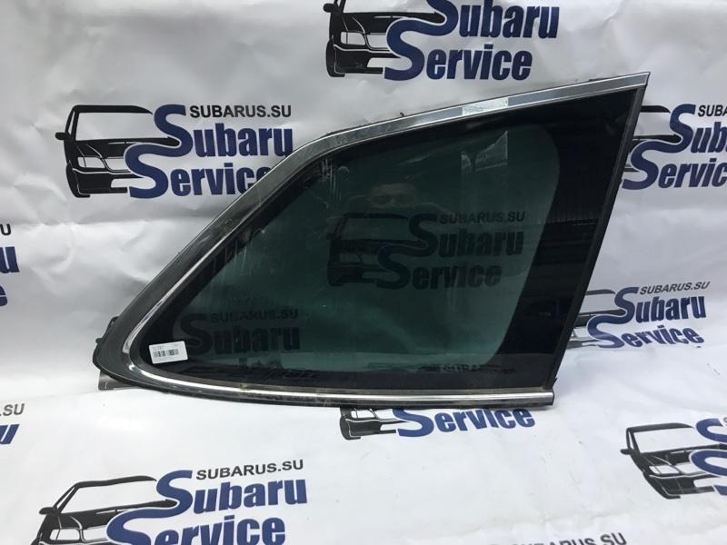 Стекло собачника Subaru Outback BR9 EJ253 2009 заднее правое