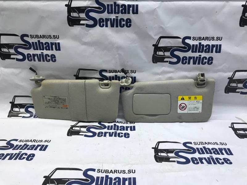 Козырек солнцезащитный Subaru Outback BR9 EJ253 2009