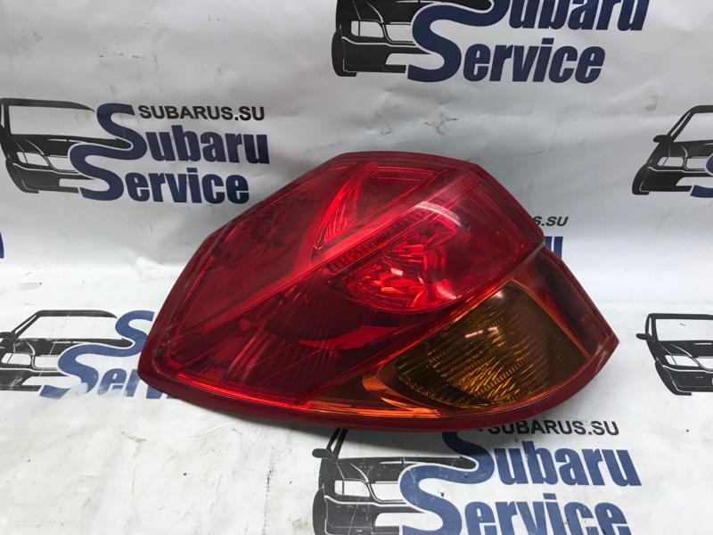 Стоп-сигнал Subaru Legacy BP5 EJ20X 2003 левый