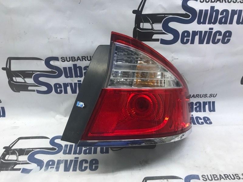 Стоп-сигнал Subaru Legacy B4 BL9 EJ253 2008 задний левый