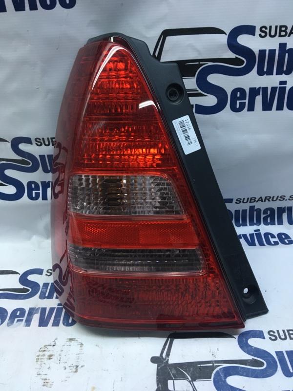 Стоп-сигнал Subaru Forester SG5 EJ205 2003 задний левый