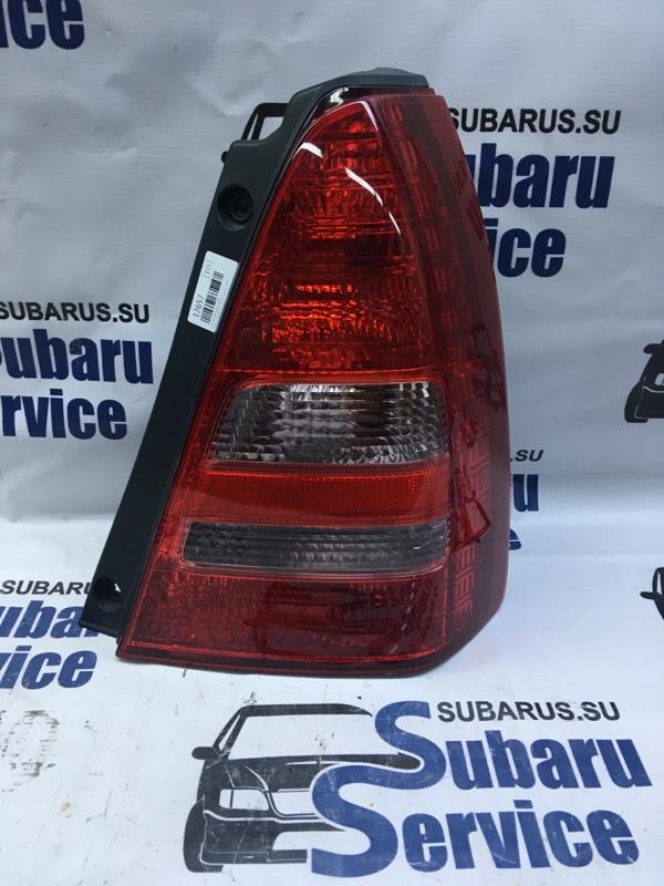 Стоп-сигнал Subaru Forester SG5 EJ205 2003 задний правый