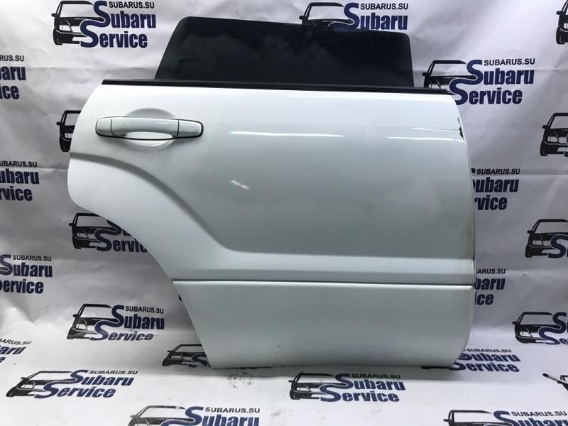 Дверь Subaru Forester SG5 EJ205 2003 задняя правая