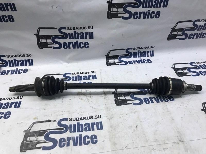 Привод Subaru Impreza Gj GJ3 FB16 2012 задний левый