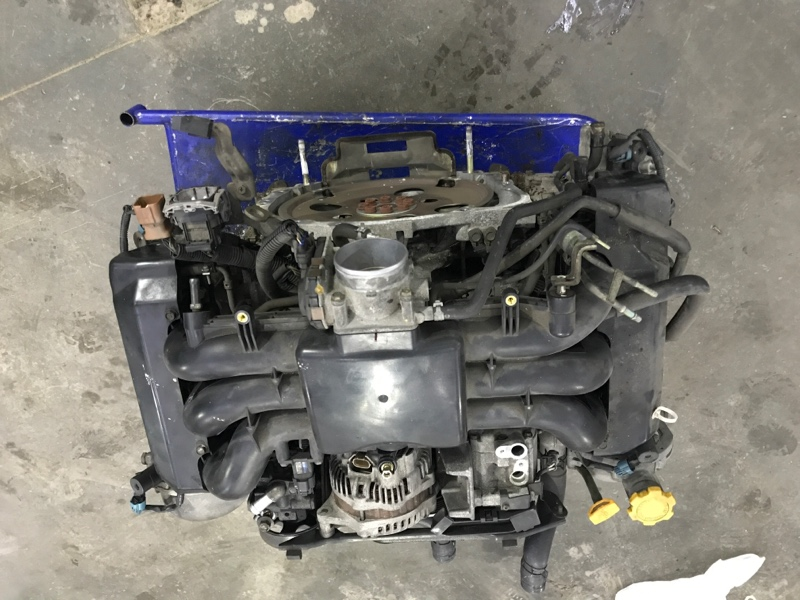 Двигатель Subaru Legacy Wagon BPE EZ30 2003