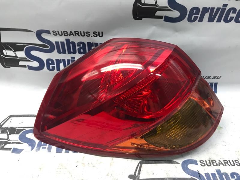 Стоп-сигнал Subaru Outback BPE EZ30 2005 задний левый