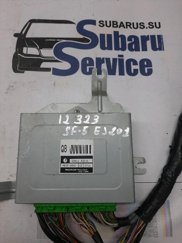 Блок управления двс Subaru Forester SF5 EJ201 1999