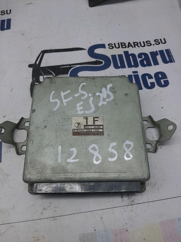 Блок управления двс Subaru Forester SF5 EJ205 2000