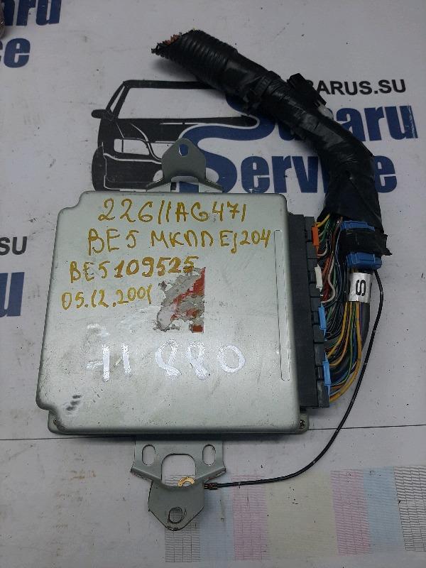 Блок управления двс Subaru Legacy BE5 EJ204 2001