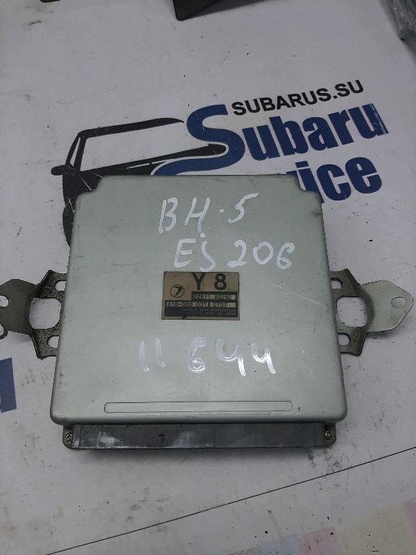 Блок управления двс Subaru Legacy Wagon BH5 EJ206 2000