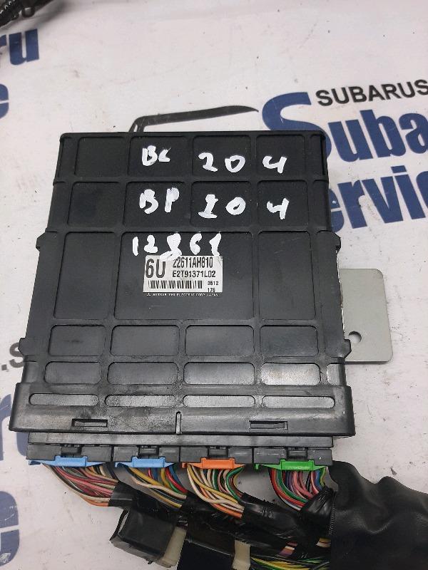 Блок управления двс Subaru Legacy Wagon BP5 EJ204 2004