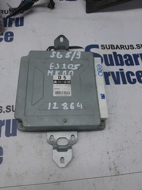 Блок управления двс Subaru Forester SG5 EJ205 2007
