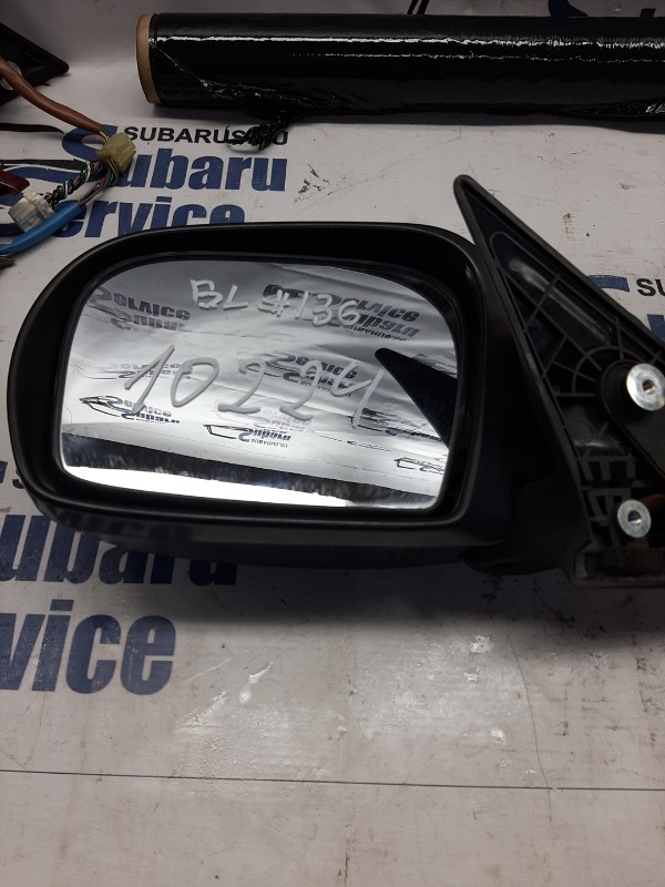 Зеркало Subaru Legacy B4 BL9 EJ253 2008 левое