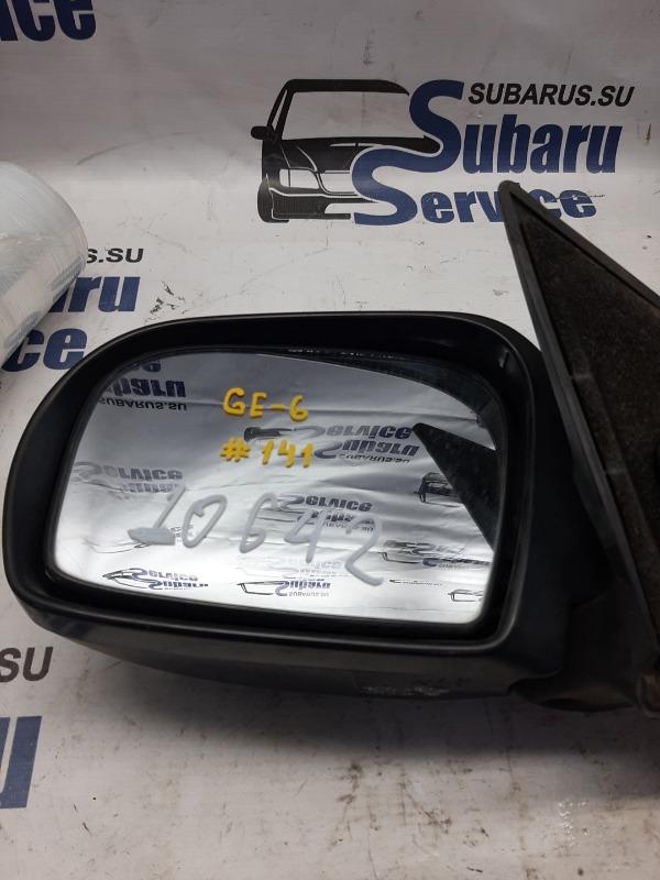 Зеркало Subaru Impreza GE6 EJ203 2009 левое