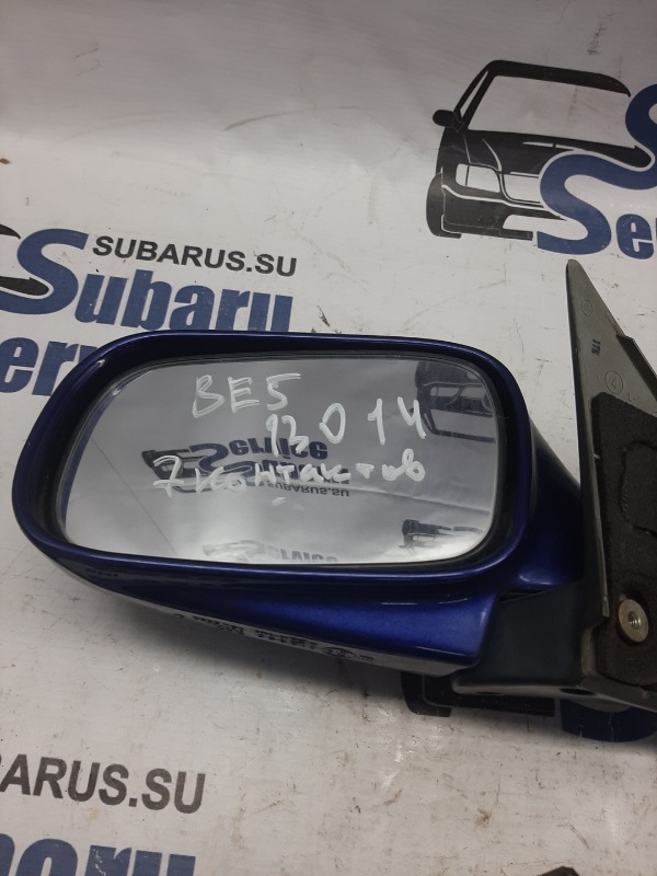 Зеркало Subaru Legacy BE5 EJ208 2000 левое