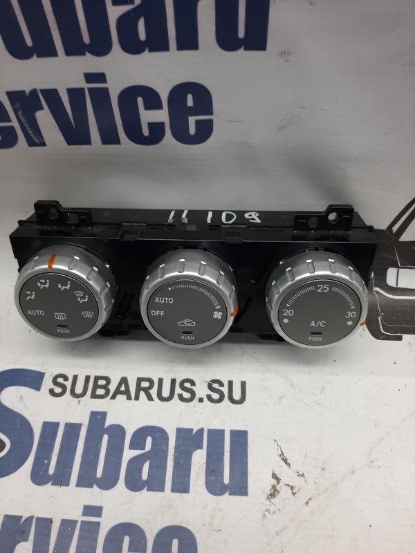 Блок управления климат-контролем Subaru Forester SG5 EJ205 2006